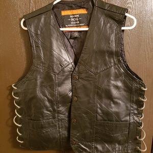 Rocky ranch hide vest